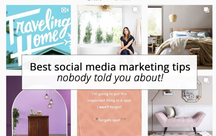Best social media marketing tips nobody told you about!